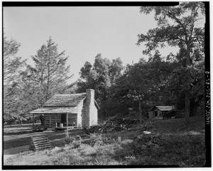North Carolina Mountain Cabin, Humpback Rocks Visitors Center