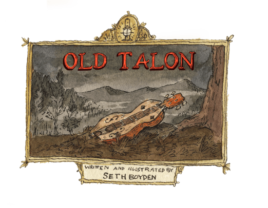 Old Talon Tennessee Mountain Creature Monster Story Dulcimer