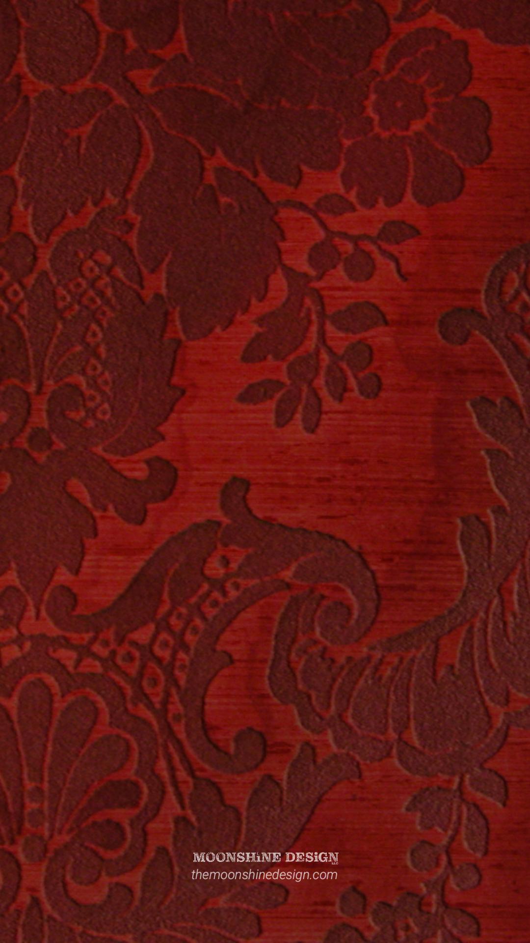 Moonshine Design Red Velvet Background