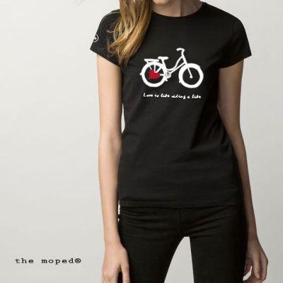 camiseta-mujer-manga-corta-love-riding-bike-the-moped
