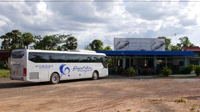 Getting From Phnom Penh To Siem Reap By Giant Ibis Bus