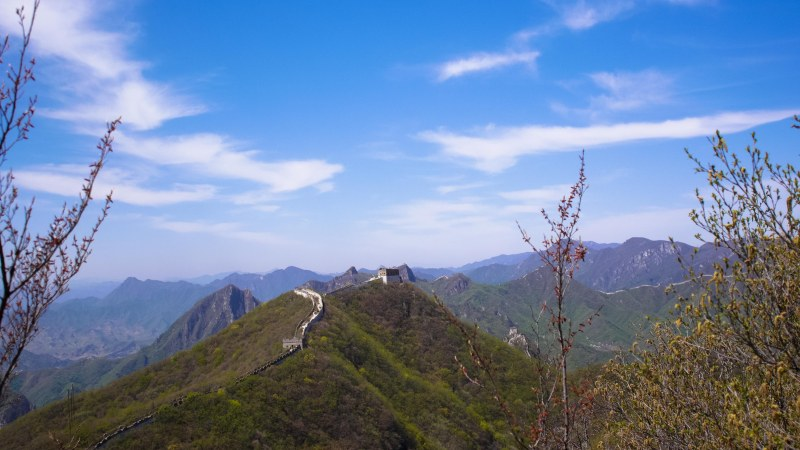 A Photography Entry Of Hiking The Great Wall Of China