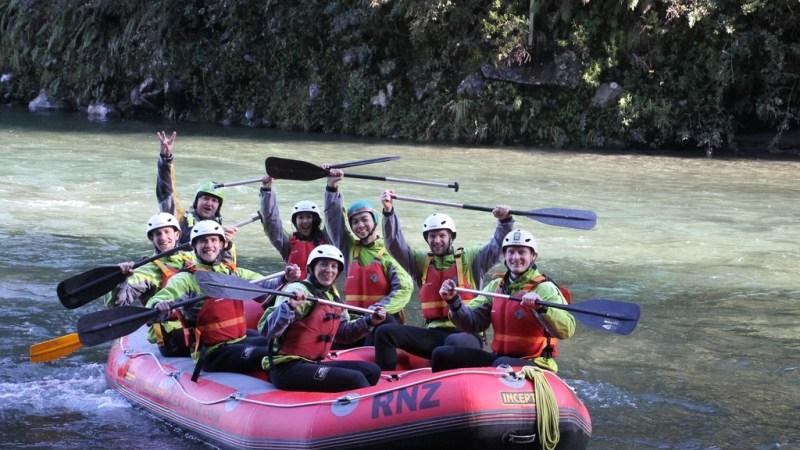 White Water Rafting in New Zealand – Tongariro River