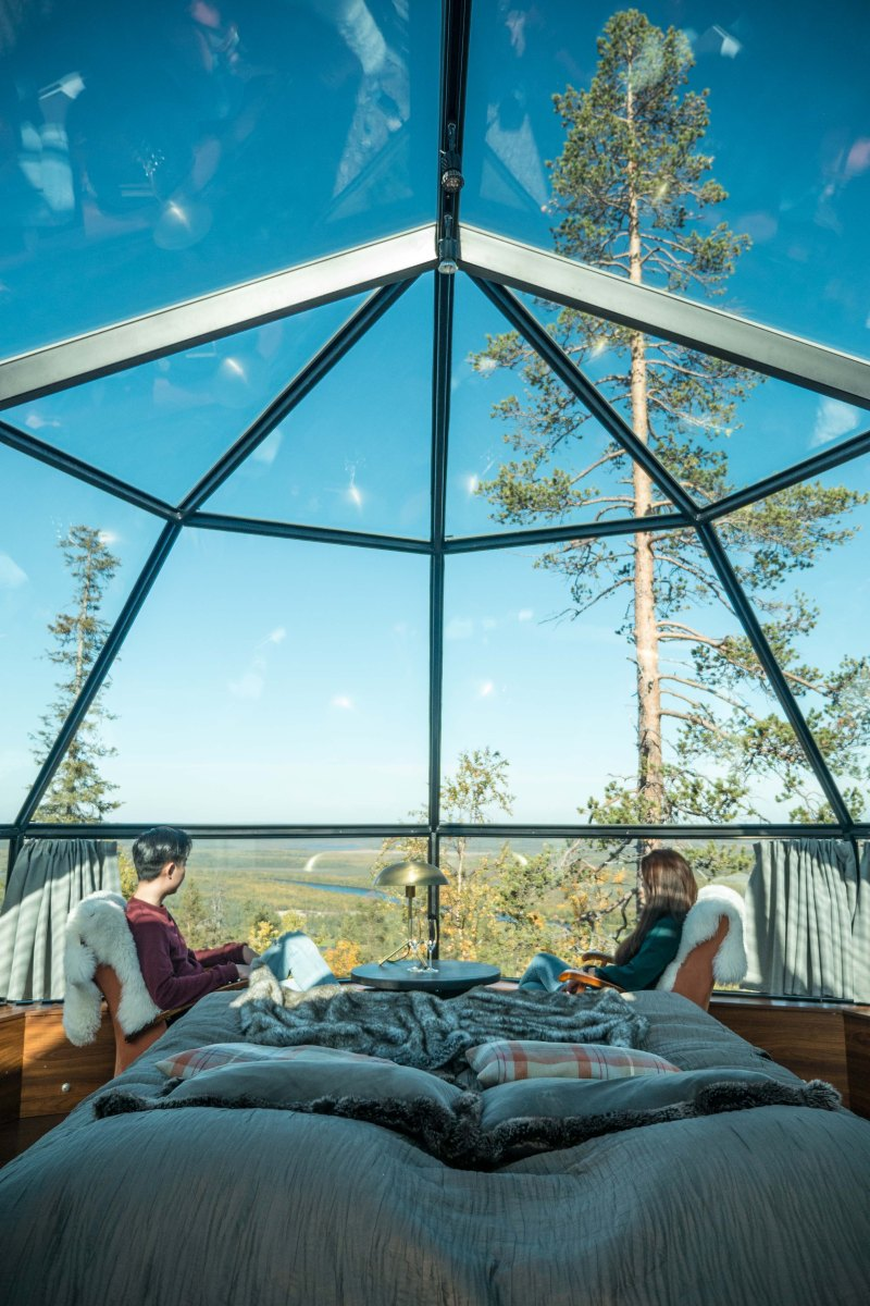 Glass Igloos In Finland Lapland