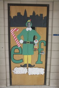 Holiday Door Decorations. Beautiful Easy Front Door
