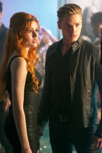 "SHADOWHUNTERS - ""Raising Hell"" - The Shadowhunters will have to put their trust in a Downworlder to access Clary's memories in ""Raising Hell,"" an all-new episode of ""Shadowhunters,"" airing Tuesday, February 2nd at 9:00 – 10:00 p.m., EST/PST on Freeform, the new name for ABC Family. (Freeform/Sven Frenzel) KATHERINE MCNAMARA, DOMINIC SHERWOOD"