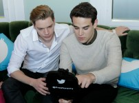 FREEFORM - ABC Family Becomes Freeform today and Celebrates with a daylong multi-platform social event where fans can interact with musical artists, visual artists and talent. (Freeform/Rick Rowell) DOMINIC SHERWOOD, ALBERTO ROSENDE
