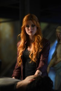 """SHADOWHUNTERS - """"Bad Blood"""" - Alec and Clary are forced to make some hard decisions in """"Bad Blood,"""" an all-new episode of """"Shadowhunters,"""" airing Tuesday, March 1st at 9:00 – 10:00 p.m., EST/PST on Freeform, the new name for ABC Family. (Freeform/John Medland) KATHERINE MCNAMARA"""