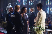 "SHADOW HUNTERS - ""Malec"" - On the eve of Alec and Lydia's wedding relationships are being examined in ""Malec,"" an all-new episode of ""Shadowhunters,"" airing TUESDAY, MARCH 29 (9:00 – 10:00 p.m., EST) on Freeform, the new name for ABC Family. (Freeform/John Medland) DOMINIC SHERWOOD, NICOLE CORREIA DAMUDE, MATTHEW DADDARIO"