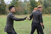 "SHADOW HUNTERS - ""Malec"" - On the eve of Alec and Lydia's wedding relationships are being examined in ""Malec,"" an all-new episode of ""Shadowhunters,"" airing TUESDAY, MARCH 29 (9:00 – 10:00 p.m., EST) on Freeform, the new name for ABC Family. (Freeform/John Medland) HARRY SHUM JR., DOMINIC SHERWOOD"