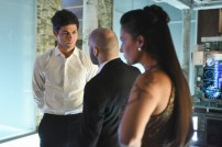 """SHADOW HUNTERS - """"Morning Star"""" - Time is running out for the Shadowhunters to stop Valentine in """"Morning Star,"""" the season finale of """"Shadowhunters,"""" airing TUESDAY, APRIL 5 (9:00 - 10:00 p.m. EDT) on Freeform. (Freeform/John Medland) MATTHEW DADDARIO, PAULINO NUNES, NICOLA CORREIA DAMUDE"""