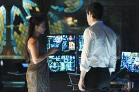 """SHADOW HUNTERS - """"Morning Star"""" - Time is running out for the Shadowhunters to stop Valentine in """"Morning Star,"""" the season finale of """"Shadowhunters,"""" airing TUESDAY, APRIL 5 (9:00 - 10:00 p.m. EDT) on Freeform. (Freeform/John Medland) NICOLA CORREIA DAMUDE, MATTHEW DADDARIO"""