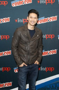 """SHADOWHUNTERS - The cast and producers of Freeform's """"Shadowhunters,"""" are featured at the COMIC CON Convention at the Jacob Javits Center in New York City on October 8, 2016. (ABC/Freeform) HARRY SHUM JR."""