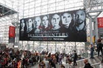 """SHADOWHUNTERS - The cast and producers of Freeform's """"Shadowhunters,"""" are featured at the COMIC CON Convention at the Jacob Javits Center in New York City on October 8, 2016. (Freeform/Lou Rocco) CONVENTION CENTER"""