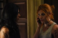 "SHADOWHUNTERS - Everyone is on the hunt for Jace, but all for their own reasons in ""Parabatai Lost,"" an all new episode of ""Shadowhunters,"" airing MONDAY, JANUARY 16 (8:00 – 9:00 PM EDT) on Freeform. (Freeform/John Medland) EMERAUDE TOUBIA, KATHERINE MCNAMARA"