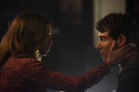 "SHADOWHUNTERS - ""Dust and Shadows"" - Clary takes desperate actions after the attack on the Institute in ""Dust and Shadows,"" an all new episode of ""Shadowhunters,"" airing MONDAY, JANUARY 30 (8:00 – 9:00 PM EDT) on Freeform. (Freeform/John Medland) CHRISTINA COX, ALBERTO ROSENDE"