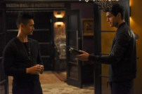 "SHADOWHUNTERS - ""How Are Thou Fallen"" - Clary and Luke find themselves at odds over Cleo in ""How Are Thou Fallen,"" an all new episode of ""Shadowhunters,"" airing MONDAY, FEBRUARY 13 (8:00 – 9:00 PM EDT) on Freeform. (Freeform/John Medland) HARRY SHUM JR., MATTHEW DADDARIO"