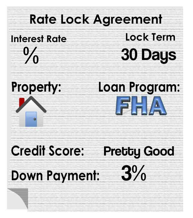 Rate Lock Agreement The Mortgage And Real Estate Blog