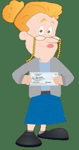 grandma-with-check