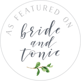 Featured on Bride & Tonic