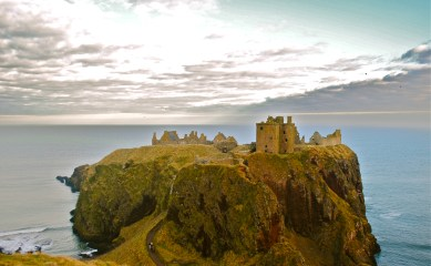 Dunnattor Castle, Scotland