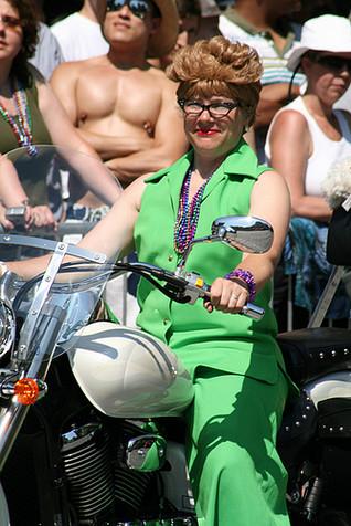 Lesbian bike racers