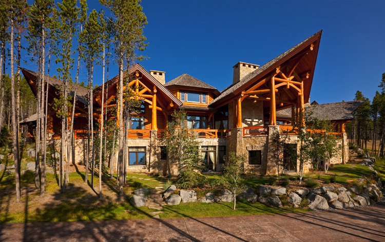 The Most Expensive Home In Montana Mountain Chateau