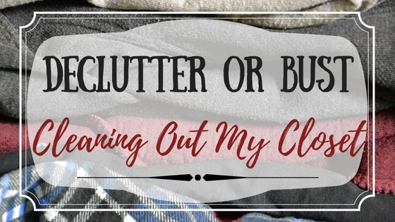 declutter or bust cleaning out my closet the most rewarding life. Black Bedroom Furniture Sets. Home Design Ideas