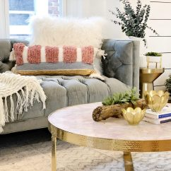 Living Room Accents Light Gray Rug Splurge And Save The Motherchic