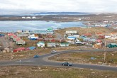 Scenic view of Iqaluit, Nunavut
