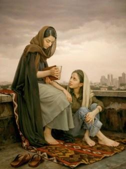 Iman Maleki 1976 - Iranian Realist painter - Tutt'Art@ - (1)