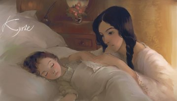 mother_and_daughter_by_kyrie0201-d63li51