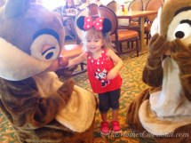 Minnie and Friends Breakfast Disneyland