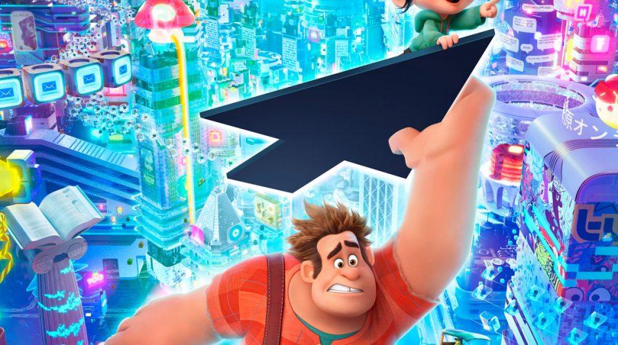 Wreck It Ralph 2 - Ralph Breaks The Internet Disney Movie Trailer Poster