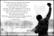 The World Ain't All Sunshine and Rainbows - Rocky Balboa