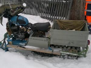 Snowmobiles berdasarkan Minsk