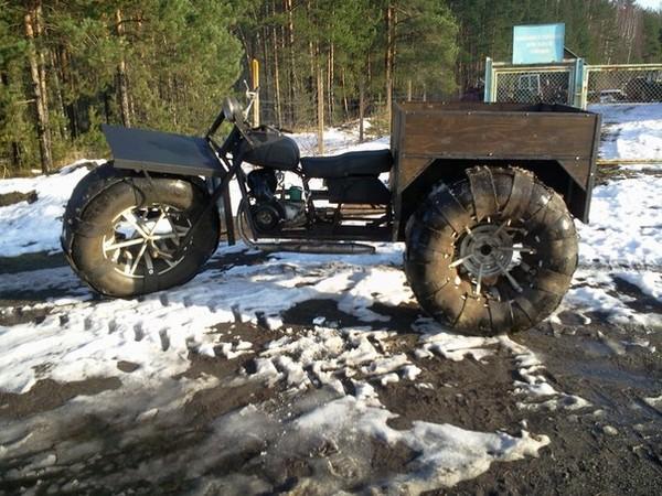 Galeri Foto Snowmobiles dari Motosikal - Foto 9