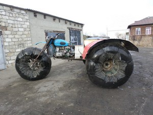 """Snowmobiles dari """"Ural"""""""