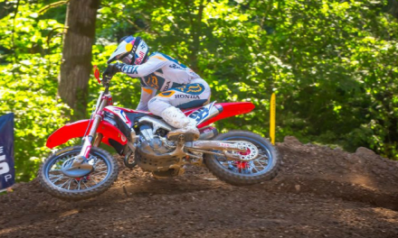 Third Consecutive Second-Place Finish for Roczen at Washougal