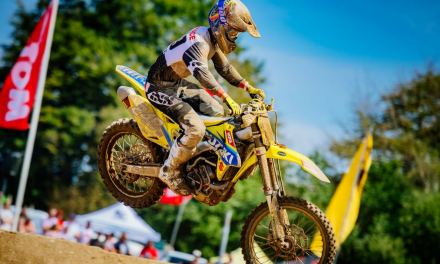 LAWRENCE & SUZUKI RM-Z250 WIN AT GERMAN ADAC MX