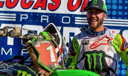 ANOTHER SWEEP FOR MONSTER ENERGY® KAWASAKI RIDER ELI TOMAC AT THE WASHOUGAL NATIONAL