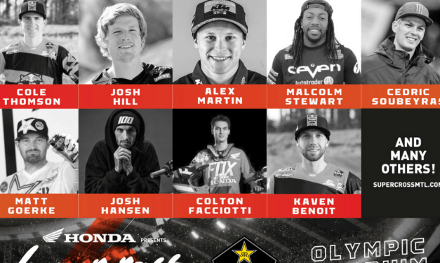 Supercross Montréal presented by Honda adds more big international names to the race lineup