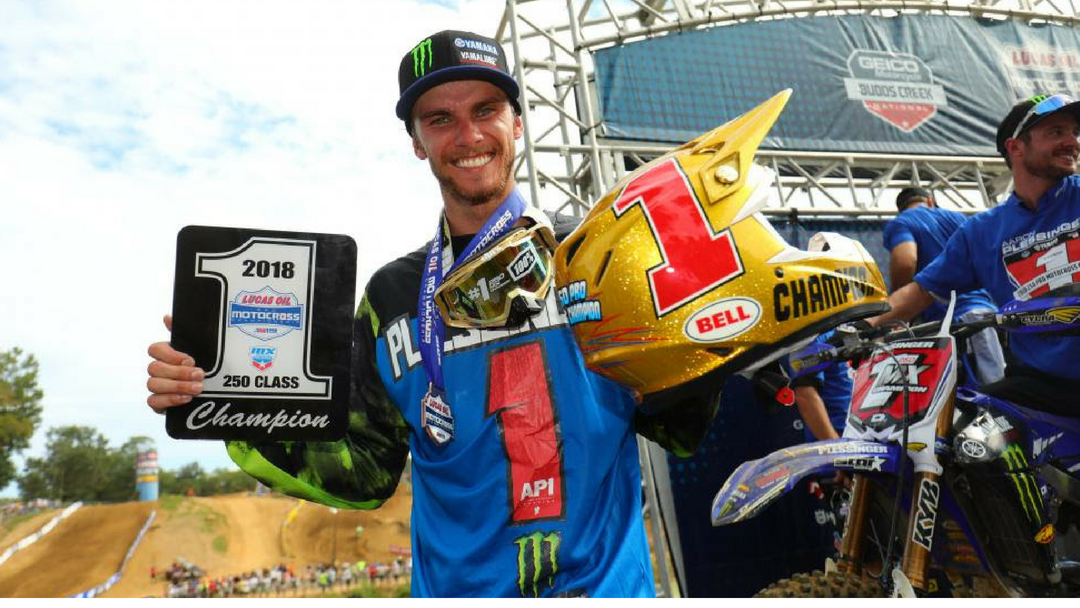 Lucas Oil Pro Motocross Championship Results: GEICO Motorcycle Budds Creek National