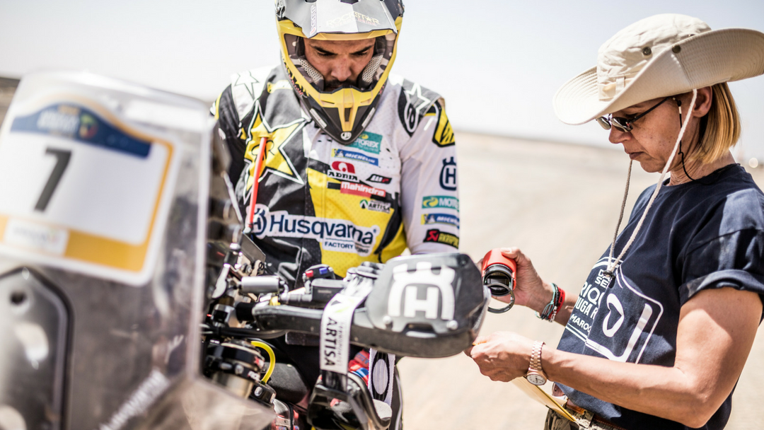 ROCKSTAR ENERGY HUSQVARNA FACTORY RACING LOOK FORWARD TO ATACAMA RALLY 2018
