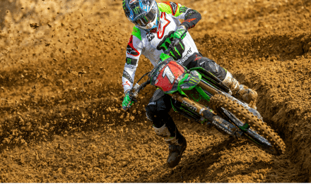 ANOTHER HEROIC RIDE FOR MONSTER ENERGY® KAWASAKI RIDER ELI TOMAC AT BUDDS CREEK