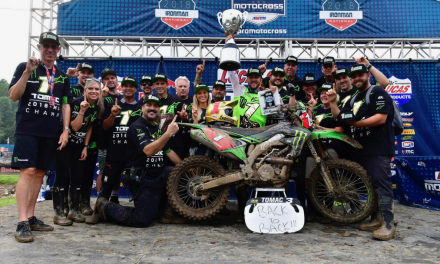 MONSTER ENERGY® KAWASAKI RIDER ELI TOMAC SECURES HIS SECOND CONSECUTIVE 450MX CHAMPIONSHIP