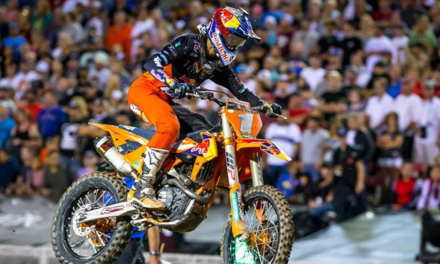 MUSQUIN FINISHES 11TH AT 2018 MONSTER ENERGY CUP IN LAS VEGAS; WEBB DEBUTS RED BULL KTM FACTORY RACING TEAM RIDE