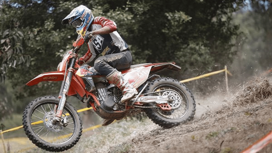 E2 CLASS WIN FOR TAYLOR ROBERT AT 2018 ISDE