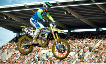 REED WINS FIM OCEANIA SX CHAMPIONSHIP ON RM-Z450