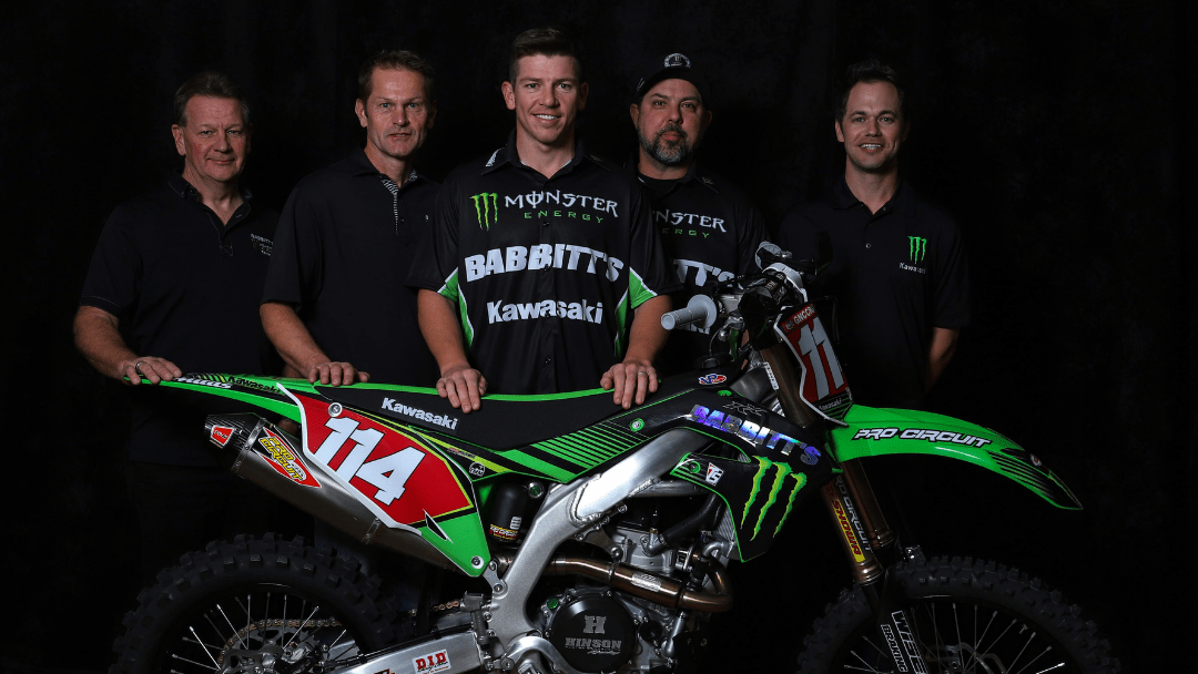 KAWASAKI TEAM GREEN™ ESTABLISHES OFF-ROAD RACING EFFORT WITH BABBITT'S ONLINE MOTORSPORTS